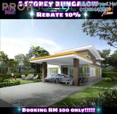 Semi-Detached For Sale in Taman Mangga, Alor Setar Freehold Unfurnished 3R/2B 375k