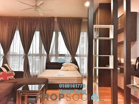 For Sale SoHo/Studio at Regalia @ Jalan Sultan Ismail, Kuala Lumpur Freehold Fully Furnished 1R/1B 448k