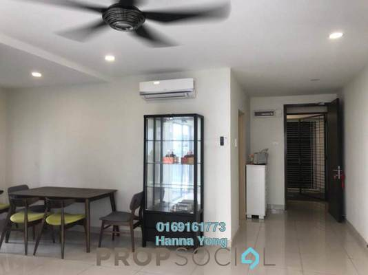 For Sale Serviced Residence at Maisson, Ara Damansara Freehold Semi Furnished 1R/1B 450k