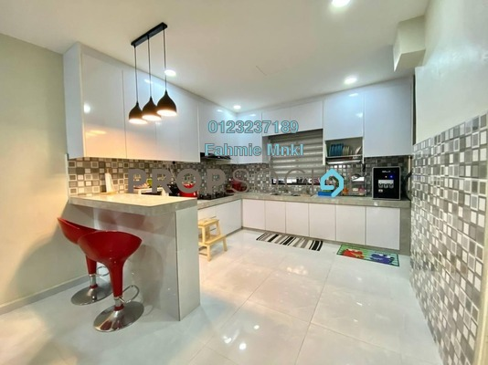 For Sale Terrace at Taman Permai Jaya, Ampang Leasehold Fully Furnished 4R/3B 720k