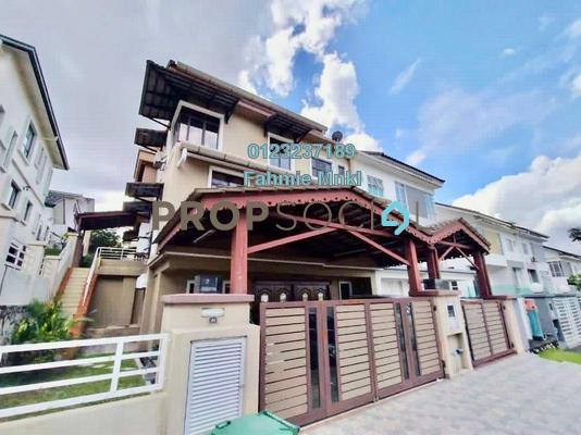 For Sale Semi-Detached at Saujana Villa, Kajang Freehold Semi Furnished 5R/5B 1.23m
