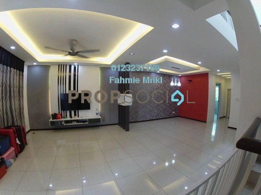 For Sale Terrace at Nadayu 92, Kajang Freehold Semi Furnished 4R/3B 640k