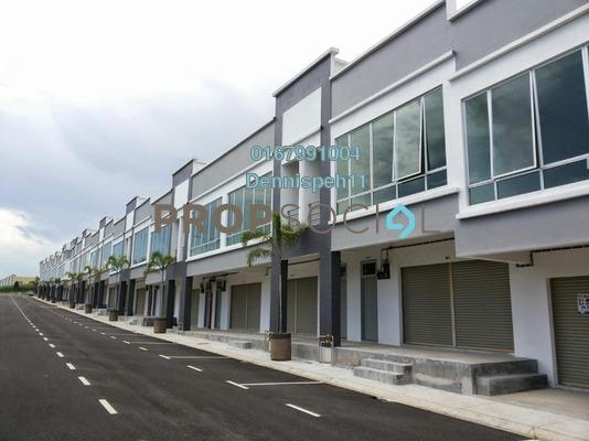 Shop For Rent in Taman Bestari Indah, Ulu Tiram Freehold Unfurnished 0R/0B 1.2k