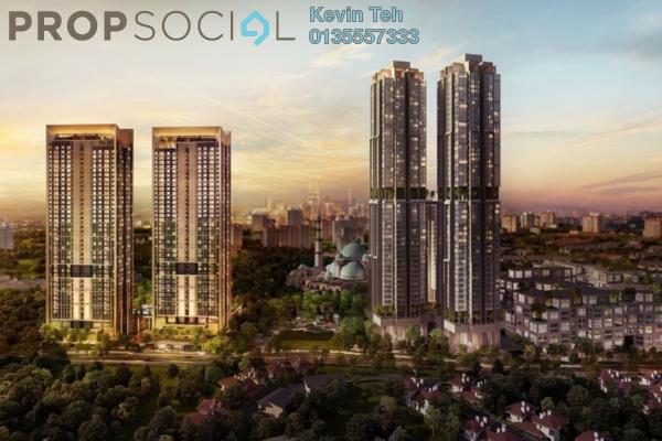For Sale Condominium at Solaris Parq, Dutamas Freehold Semi Furnished 2R/2B 1.33m