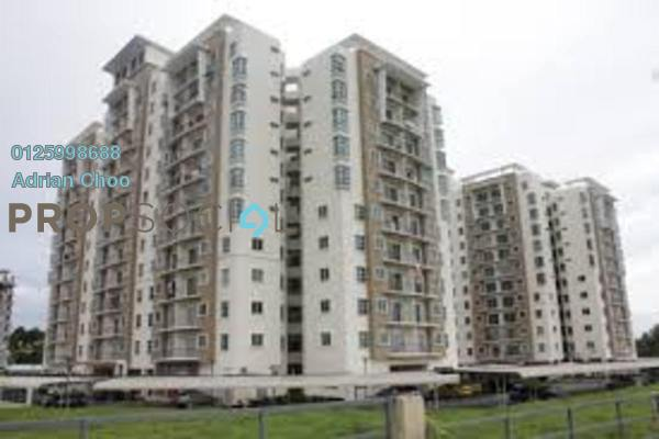 For Sale Apartment at Idaman Lavender, Sungai Ara Freehold Fully Furnished 3R/2B 375k