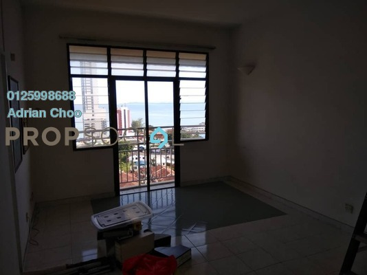 For Sale Apartment at Indah Bay, Tanjung Tokong Freehold Semi Furnished 3R/2B 350k