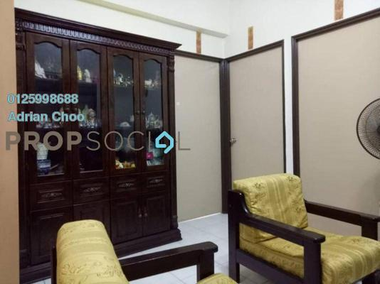 For Sale Apartment at Sri Aman Apartment, Relau Freehold Semi Furnished 3R/2B 265k
