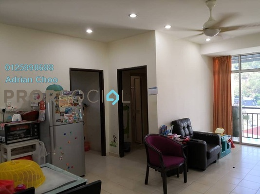 For Sale Apartment at Taman Evergreen, Tanjung Tokong Freehold Fully Furnished 3R/2B 430k