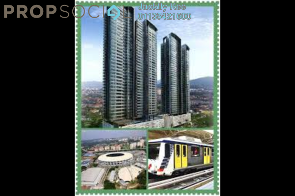 For Sale Serviced Residence at The Rosewoodz Residences, Bukit Jalil Freehold Fully Furnished 2R/2B 541k