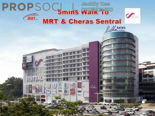 For Sale Serviced Residence at Majestic Maxim, Cheras Freehold Unfurnished 2R/2B 300k