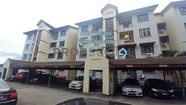 Apartment For Sale in Sri Ayu, Setiawangsa Freehold Semi Furnished 3R/2B 485k