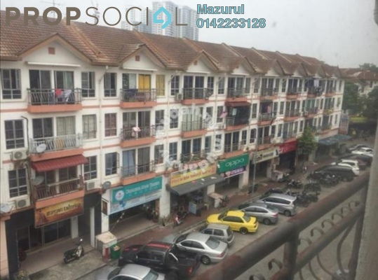 Apartment For Sale in Taman Tampoi Indah, Johor Bahru Freehold Fully Furnished 3R/2B 195k