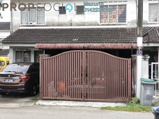 Terrace For Sale in Taman Cahaya Masai, Pasir Gudang Freehold Unfurnished 3R/2B 265k