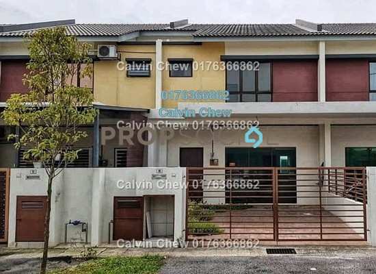 For Sale Terrace at Saujana Perdana, Sungai Buloh Leasehold Unfurnished 4R/0B 348k