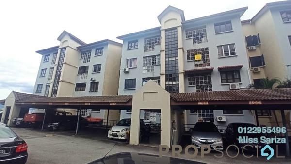 Apartment For Sale in Sri Ayu, Setiawangsa Freehold Unfurnished 3R/2B 485k