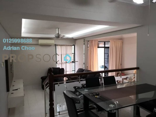 For Sale Apartment at Golf View Apartment, Bukit Jambul Freehold Semi Furnished 3R/2B 460k