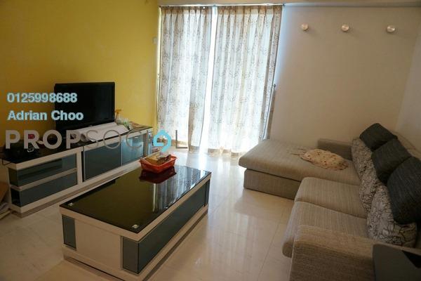 For Sale Condominium at Halaman Kristal, Green Lane Freehold Fully Furnished 3R/2B 530k