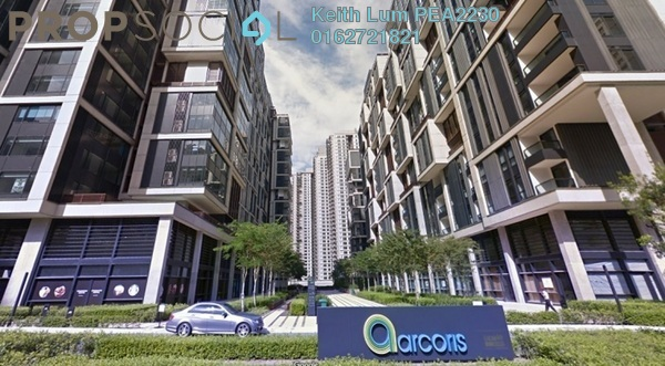 Office For Sale in Arcoris, Mont Kiara Freehold Semi Furnished 1R/0B 630k
