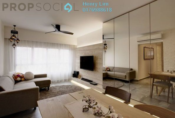 For Rent Serviced Residence at Three28 Tun Razak, KLCC Freehold Fully Furnished 3R/3B 3.5k