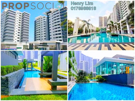 For Rent Condominium at Kiara Residence 2, Bukit Jalil Freehold Semi Furnished 3R/2B 1.5k