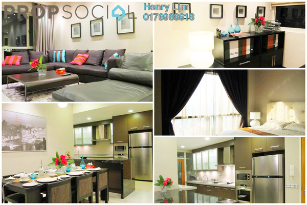 For Sale Condominium at Suasana Sentral Loft, KL Sentral Freehold Fully Furnished 2R/2B 1.3m