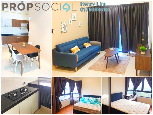 For Sale Condominium at The Link 2 @ Bukit Jalil, Bukit Jalil Freehold Fully Furnished 3R/2B 750k