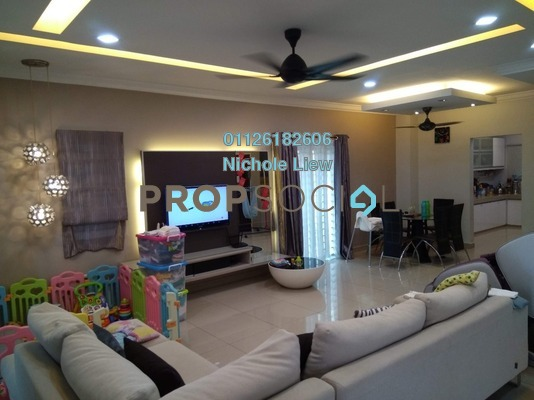 For Sale Superlink at Taman Sri Putra Mas, Sungai Buloh Freehold Fully Furnished 4R/3B 795k