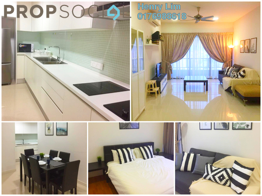 For Rent Serviced Residence at G Residence, Desa Pandan Freehold Fully Furnished 2R/2B 2.8k