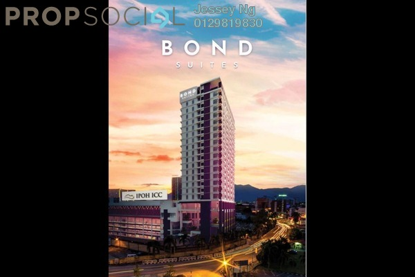 Serviced Residence For Sale in Ipoh New Town, Ipoh Leasehold Unfurnished 1R/1B 239k