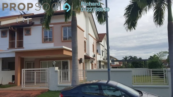 For Sale Terrace at Setia Damai, Setia Alam Freehold Semi Furnished 4R/4B 1.8m