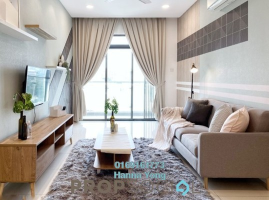 For Rent Condominium at Vivo Residential @ 9 Seputeh, Old Klang Road Freehold Fully Furnished 3R/2B 2.8k
