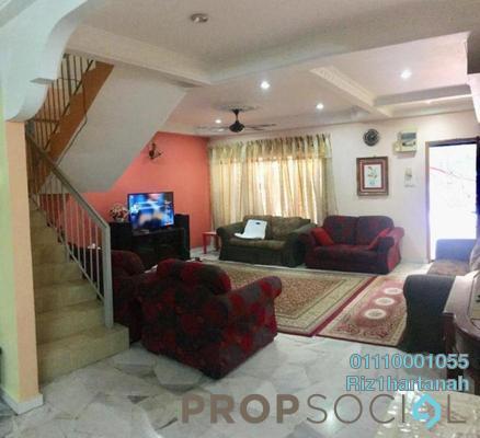 Terrace For Sale in Pandan Perdana, Pandan Indah Freehold Semi Furnished 4R/4B 780k