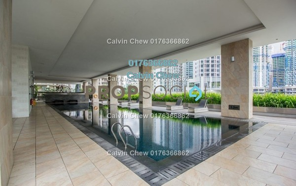 Condominium For Sale in Mirage Residence, KLCC Freehold Unfurnished 1R/0B 855k