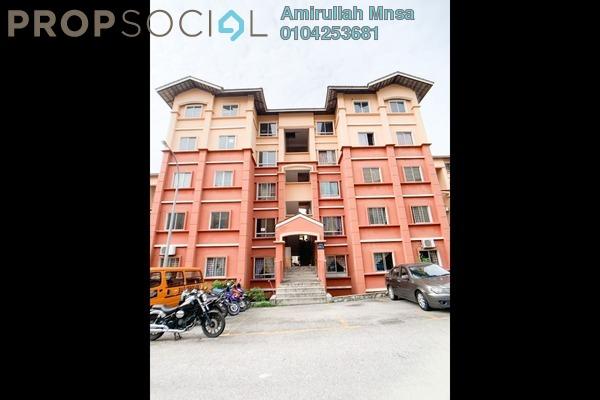 Apartment For Sale in Puncak Alam Jaya Residences, Shah Alam Freehold Semi Furnished 3R/2B 140k
