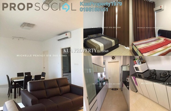 Condominium For Rent in Riverine Sapphire, Kuching Freehold Unfurnished 2R/2B 2.4k