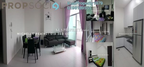 Apartment For Rent in TT3 SOHO, Kuching Freehold Unfurnished 2R/1B 1.6k