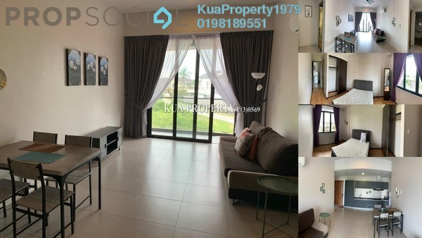 Apartment For Rent in The Echelon, Kuching Freehold Fully Furnished 2R/2B 2k
