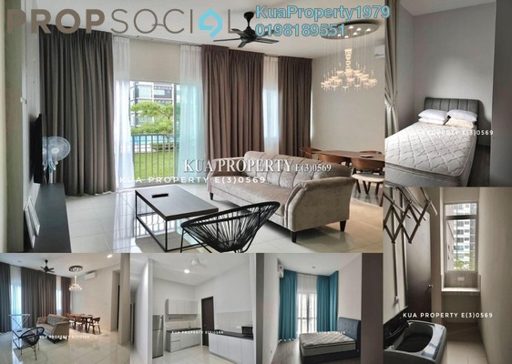 Condominium For Rent in Liberty Grove, Kuching Freehold Fully Furnished 3R/2B 2.2k