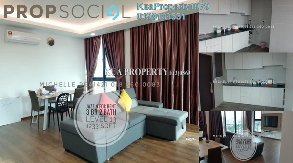 Condominium For Rent in Jazz Suite @ ViVaCiTy, Kuching Freehold Fully Furnished 3R/2B 3k