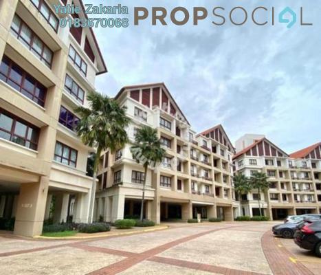 Condominium For Rent in Surian Condominiums, Mutiara Damansara Freehold Semi Furnished 4R/3B 4.5k