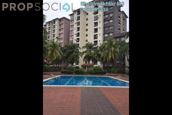 Condominium For Rent in Sri Damansara Court, Bandar Sri Damansara Freehold Semi Furnished 3R/2B 1.45k