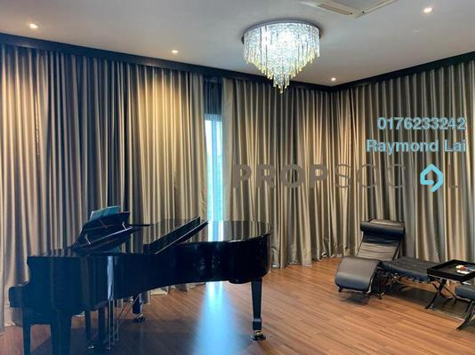 For Sale Semi-Detached at D'Island, Puchong Leasehold Fully Furnished 4R/5B 2.35m