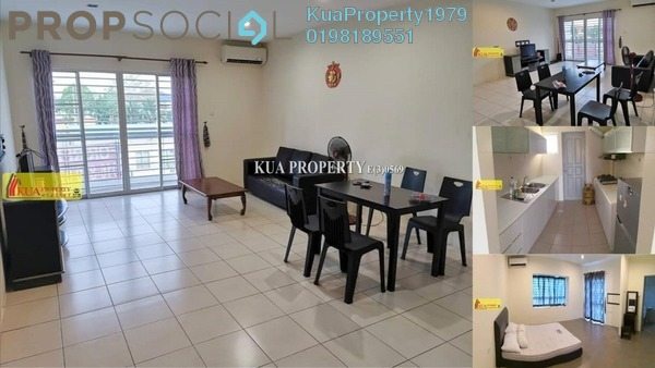 Apartment For Rent in Riveria Bay Apartments, Kota Samarahan Freehold fully_furnished 3R/3B 1.5k