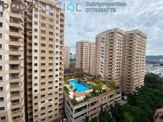 For Sale Apartment at Pelangi Damansara, Bandar Utama Freehold Unfurnished 3R/2B 299k
