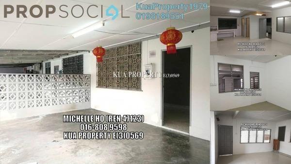For Sale Terrace at Kampung Kenyalang Park, Kuching Freehold Unfurnished 3R/1B 320k
