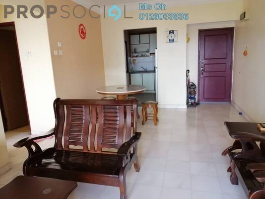 For Rent Apartment at Kenanga Apartment, Pusat Bandar Puchong Freehold Fully Furnished 3R/2B 1.4k