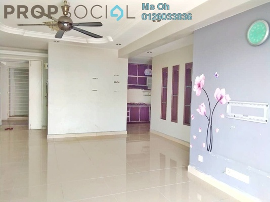 For Sale Apartment at The Heron Residency, Puchong Leasehold Semi Furnished 3R/2B 460k