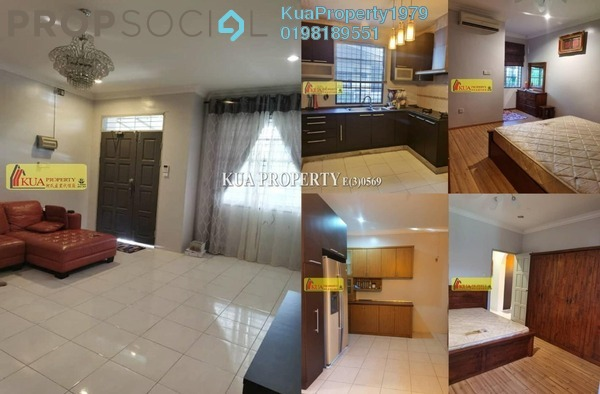 For Sale Semi-Detached at Taman Sri Matang, Petra Jaya Freehold Fully Furnished 3R/3B 390k