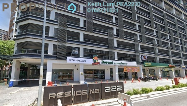 Condominium For Sale in 222 Residency, Setapak Freehold Semi Furnished 3R/2B 440k