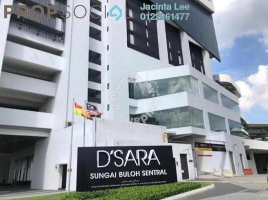 Serviced Residence For Sale in D'Sara Sentral, Sungai Buloh Freehold Semi Furnished 3R/2B 358k